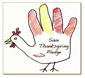 Save Thanksgiving Pledge
