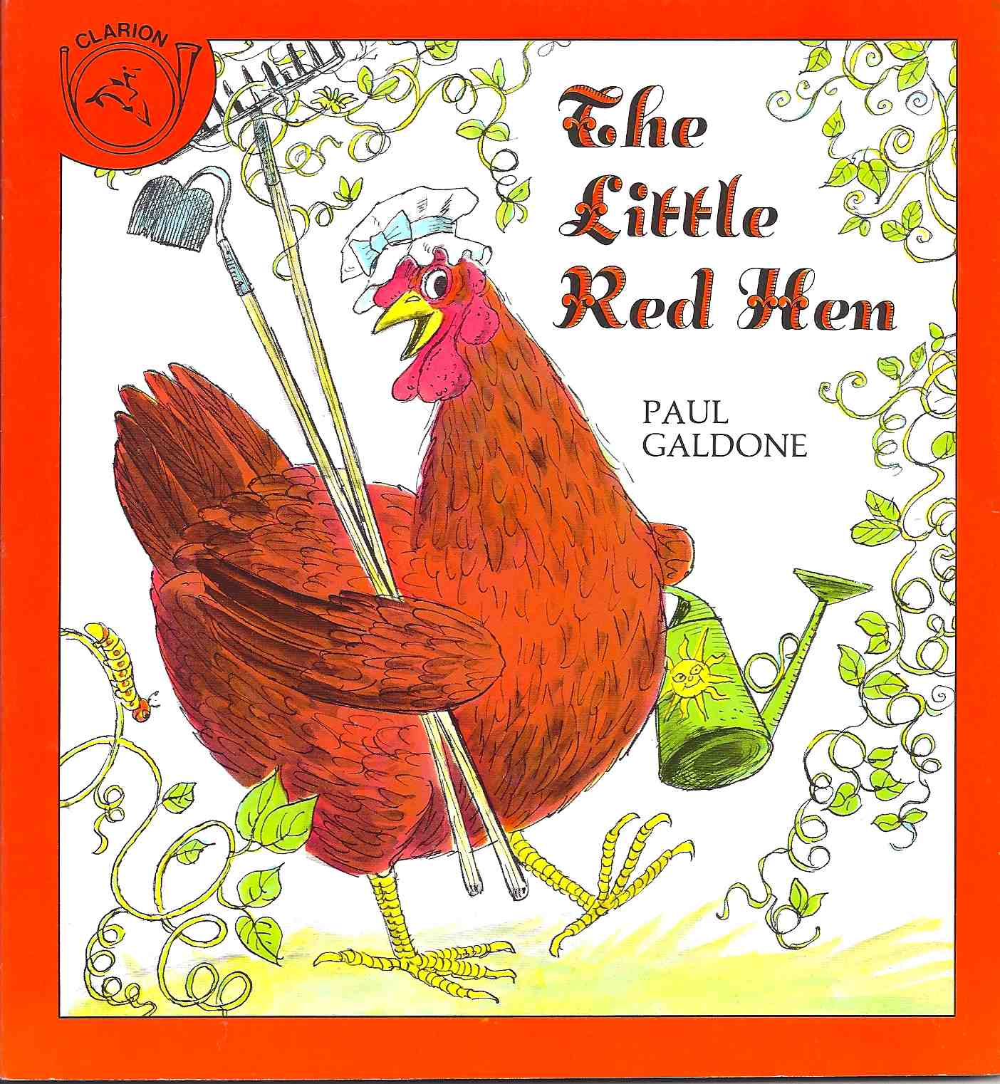 The little red hen story book online